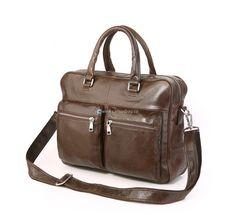D Guarantee Genuine Leather Men s Business Briefcase Handbag For Man Laptop  Bag b84a8bc8e3ccc