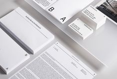 Picture of 1 designed by Studio SP-GD for the project Andrew Burns Architecture. Published on the Visual Journal in date 14 March 2018 Graphic Design Projects, Print Design, Visual Identity, Brand Identity, Packaging Design, Branding Design, Things Organized Neatly, Minimal Web Design, Letterhead