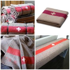 Swiss Army blanket for chair Alpine Lodge, Urban Farmhouse, Pottery Barn Teen, Cabins In The Woods, Swiss Army, Switzerland, Rustic Decor, Beautiful Homes, Repurposed