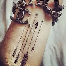 Image result for arrow tattoo wrist