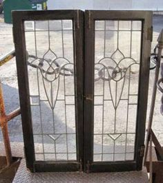 Olde Good Things' antique leaded glass collection works with modern and antique finishes in any commercial or residential building. Reclaimed Windows, Leaded Glass Windows, Architectural Antiques, Kitchen Redo, Cabinet Doors, My House, Houses, Rooms, Decorating