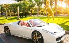 2015 Ferrari 458 White