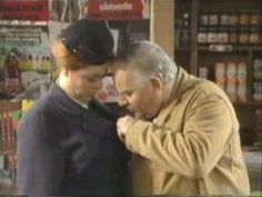 Nurse Gladys Emmanuel & Arkwright ~ 'Open All Hours' Ronnie Barker, Open All Hours, Are You Being Served, Classic Comedies, Back In My Day, Anthology Series, British Comedy, Comedy Tv, Childhood Memories