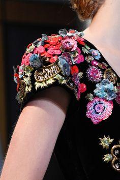 Details at Schiaparelli Couture F/W 2015