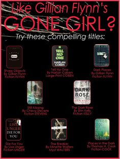 If you liked Gone Girl...