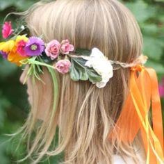It's just not summer without a decorative flower crown to wear to any outdoor gatherings or weddings (or just a picnic in the park!).