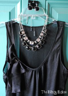 Perfection Necklace (black) and Most Wanted Necklace (crystals)...stunning combo! nataliejacksonpremierdesigns@gmail.com