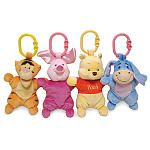 """Winnie the Pooh Attachable Mini Plush Toy (Colors/Styles Vary) -  Kids Preferred - Toys""""R""""Us"""