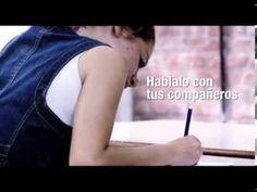 Campaña contra acoso escolar - Ministerio de Educación y UNICEF Argentina http://www.unicef.org/argentina/spanish/media_333.htm
