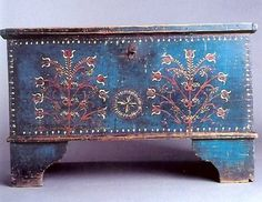 beutiful blue box