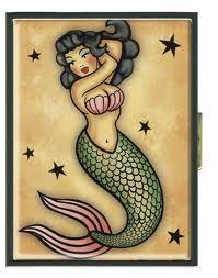 mermaid, sailor jerry