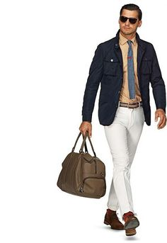 Excluding the man bag...