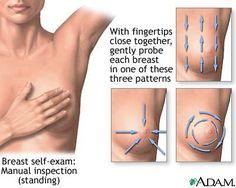 First breast self-exam - http://www.women-health-info.com/44-Breast-exam-2.html