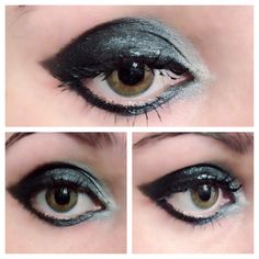 Rock n roll makeup by me using urban decay naked palette 1