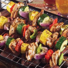 It's grilling season! Get this kidney-friendly recipe for Chicken and Summer Vegetable Kebabs in Today's Kidney Diet: Summer Picnic Recipes. Free download!