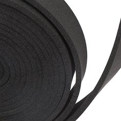 Magzo Black Foam Padding Foam Long Roll 1 8 Thick X 1 Wide X 9 8 Feet Long Noise Insulation Weather Strip Non Adhesi Noise Insulation Weather Stripping Foam