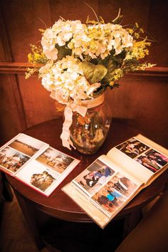 Pictures are so important to us, which is why we brought our friends & family albums and pictures #Nostalgia #OurWedding <3 #LoveIsInTheAir #Weddingbells english-country-garden-wedding