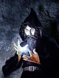 Druids Trees:  Wizard.