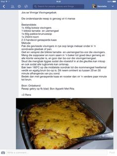 Veggie Recipes, Seafood Recipes, Dessert Recipes, Cooking Recipes, Quiches, Cooking Measurements, South African Recipes, Savory Snacks, Fish Dishes