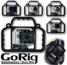 GoPro Hero Hero 2 3 4 Gorig Stabilization Dive Rig for All GoPro ...