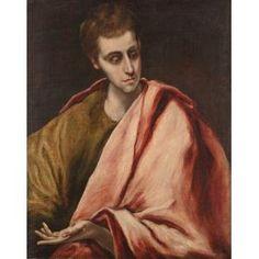 St. John, After El Greco, 1590-1595, Dallas Museum of Art