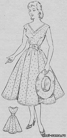 Платье с прилегающим лифом - Сто фасонов женского платья - Всё о шитье - Шей сама