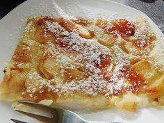 Apfelpfannkuchen aus dem Ofen - der Klassiker auf neue Art, ohne Fett gebacken. Über 354 Bewertungen und für ausgezeichnet befunden. Mit ► Portionsrechner ► Kochbuch ► Video-Tipps!