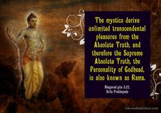 Reason Why The Supreme Lord is Also Known as Rama   Bhagwad Gita