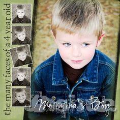 Mommas Boy, digital layout by 7evans