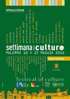 Torna a #Palermo la Settimana delle Culture Dal 10 al 17 Maggio la IV edizione Concerti, teatro, mostre, installazioni, proiezioni, incontri, performance, visite guidate, libri e tanto altro ancora. #SettimanadelleCulture #HolidayDimension
