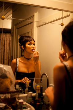 Bella Hadid Gets Ready for Dior's The Art of Color Event