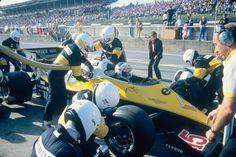 1983 - RE 40 Formula 1 and Alain PROST British Grand Prix