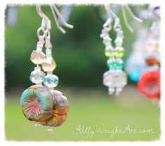 www.kellywrightart.com Earrings!