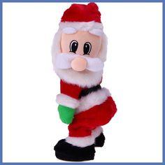 Christmas Electric Twerk Santa Claus Toy Music Dancing Doll Xmas navidad Christmas Gifts Toys Christmas Decorations for home