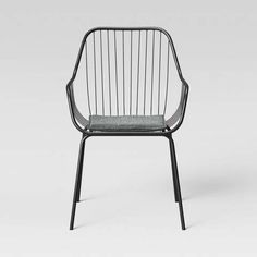 Let your decor speak to your modern style with this Metal Wire Chair from Room Essentials™. Simple yet sleek in design, this black wire chair is. Outdoor Chairs, Dining Chairs, Outdoor Furniture, Outdoor Decor, New Mexico Homes, Wire Chair, Black Rooms, Room Essentials, Accent Chairs