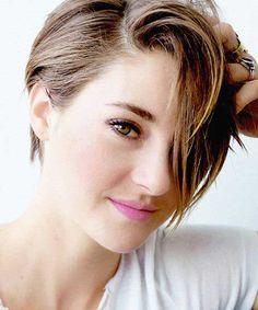 23.Brown Pixie Haircut
