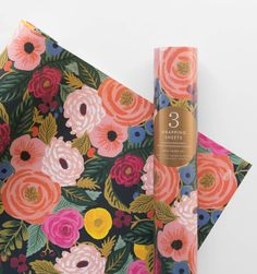 Juliet Rose Set of 3 Decorative Wrapping Sheets