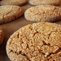 Big Soft Ginger Cookies – Cook and Bless