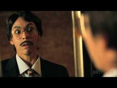 Shana Eva as Paul Rudd - Wanderlust mirror scene