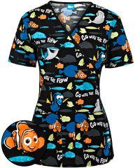 Cute Nursing Scrubs, Vet Scrubs, Body Scrubs, Pediatric Scrubs, Pediatric Nursing, Veterinary Scrubs, Disney Scrubs, Scrubs Uniform, Scrub Tops