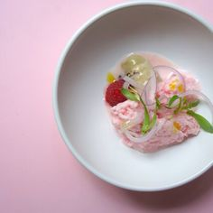 "73 Likes, 3 Comments - Serge Et Le Phoque (@sergeetlephoque) on Instagram: ""La vie en rose with our coconut ceviche, oyster and raspberry @sergeetlephoque #restaurant #hk…"""