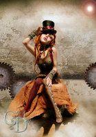 Harlequin romance ball jointed doll B by ~cdlitestudio on deviantART