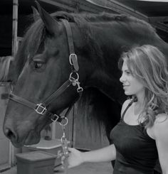 Jillian Michaels saves this horse from the meat buyer and death in a slaughter house. Read the story of this amazing horse and his rescue by PETA at www.peta.org