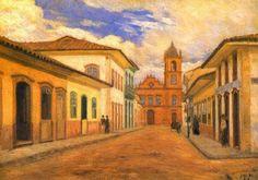 Rua do Rosário (1858), 1919, óleo 61,5x41,5 cm, acervo do Museu Paulista  http://sergiozeiger.tumblr.com/post/99082439173/jose-wasth-rodrigues-sao-paulo-19-de-marco-de