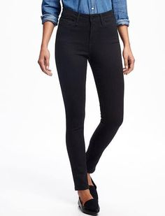 Old Navy high rise skinny black jeans 29$