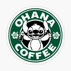 Starbucks stickers featuring millions of original designs created by independent artists. Arte Starbucks, Disney Starbucks, Custom Starbucks Cup, Starbucks Logo, Starbucks Coffee, Disney Poster, Disney Logo, Disney Decals, Ohana