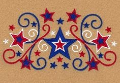 Stars and Swirls 2 - 5x7 | What's New | Machine Embroidery Designs | SWAKembroidery.com Starbird Stock Designs