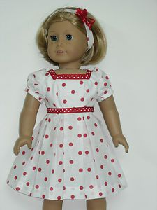 American Doll Clothe Dress Made in USA for Kit or Similar Doll | eBay