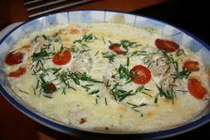 Supermammans matblogg Make Ahead Food: Fiskgratäng i sagolikt god gräslökssås