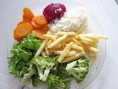 Buffet picks by veganbackpacker, via Flickr.  How to order vegan at at any restaurant. -joy-